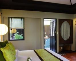 Hotelzimmer am Bo Phut Beach auf Koh Samui